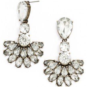 BaubleBar Crystal Flamenco Drop Earrings